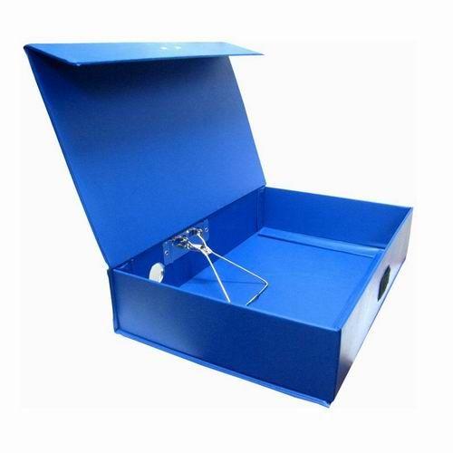 File hộp gấp A4 10cm có kẹp