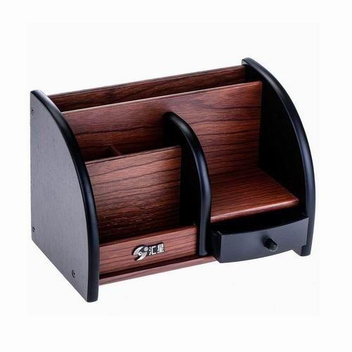 Khay cắm bút gỗ HX1019 ( loại to)