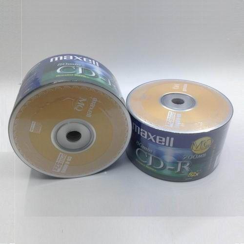 Đĩa CD-ROM Maxell - không vỏ