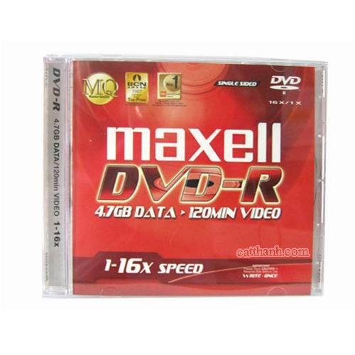 Đĩa DVD-ROM Maxell - có vỏ