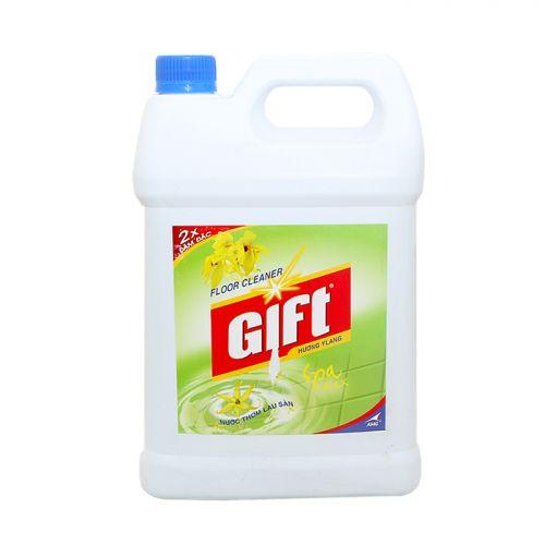 Nước lau sàn Gift 2x đậm đặc hương Ylang can 4kg