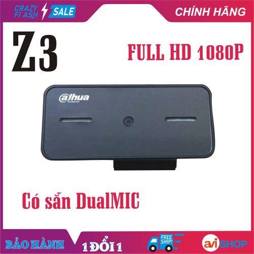 Camera, Webcam máy tính Dahua X3 Hình Ảnh Siêu nét Full HD 1080P dạy, học online, Live Stream - Dual Micro tiện dụng Zoom online mang đi khắp nơi - Giá Tốt - Hàng mới về - aviSHOP
