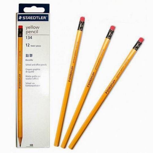 Bút chì 2B Staedtler Yellow (134 - có tẩy)