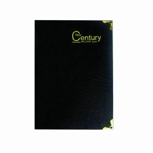 Sổ bìa da CK6 dày - 13.4x18.4cm 180 Trang